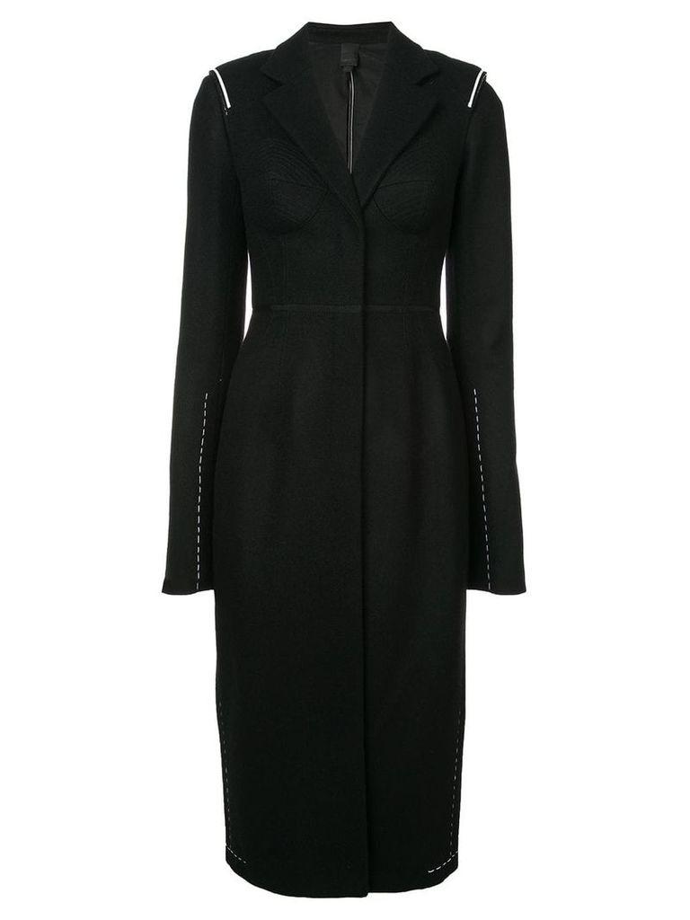 Vera Wang structured coat - Black