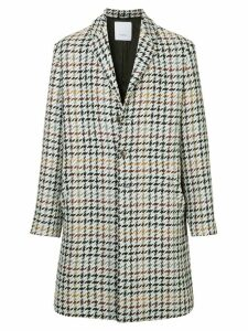 Ports V houndstooth coat - Multicolour