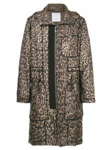 Ports V leopard print coat - Multicolour