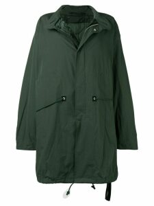 Unravel Project long oversized coat - Green