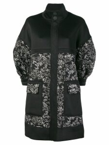 Three Floor Sketch coat - Black