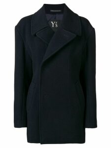 Y's single breasted coat - Blue