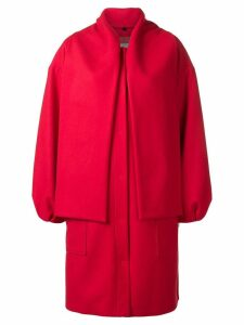 MSGM panelled coat - Red