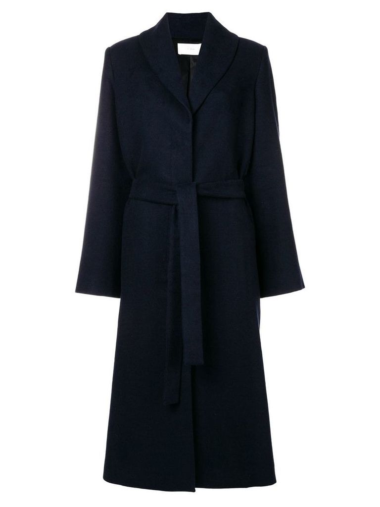The Row belted long coat - Navy