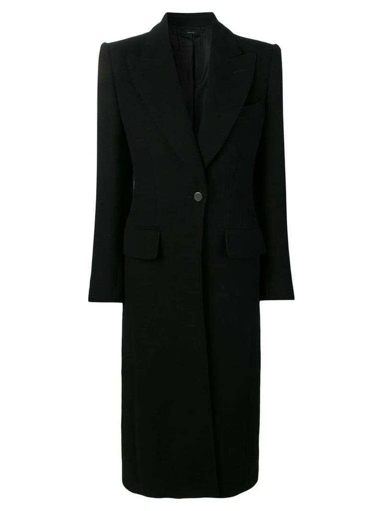 Tom Ford single-breasted coat - Black