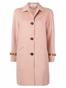 Coach single breasted coat - Pink