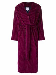 Mira Mikati fringed detail long kimono - Pink