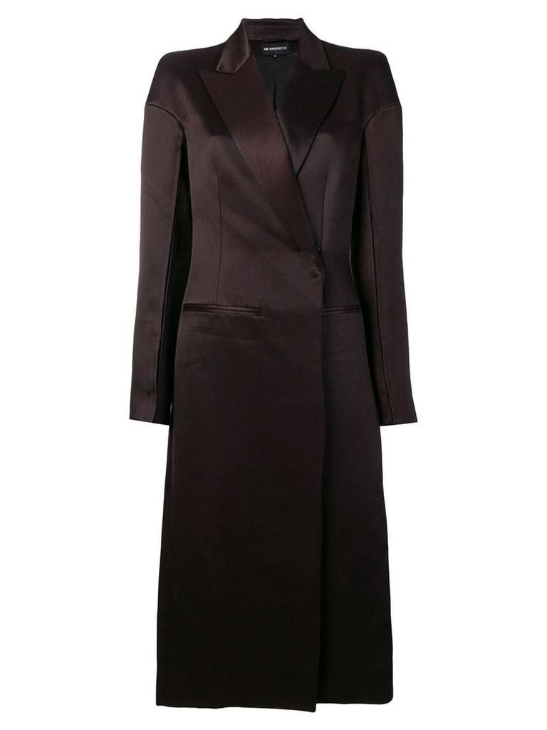 Ann Demeulemeester Howard coat - Pink
