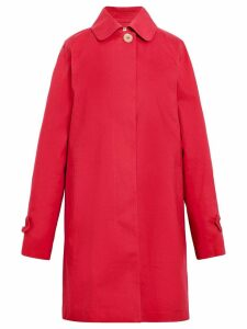 Mackintosh Ruby Bonded Cotton Coat LR-073D - Red