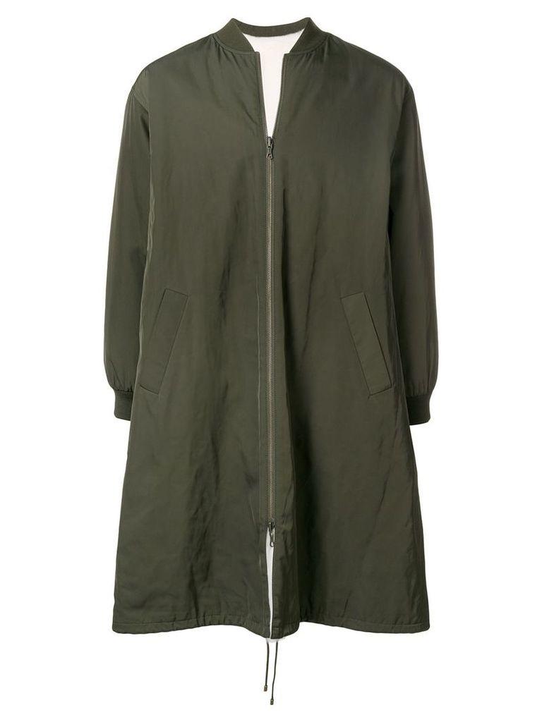 Liska reversible bomber coat - Green