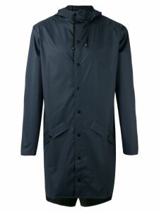 Rains zipped coat - Blue