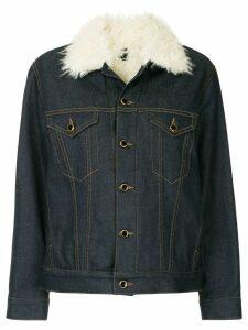 Khaite Sherpa Cate jacket - Blue