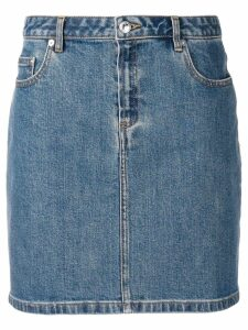 A.P.C. denim skirt - Blue