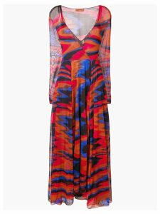 Missoni colour-block flared dress