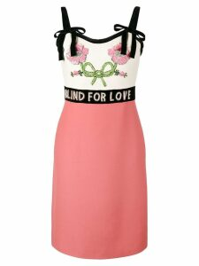 Gucci Blind For Love dress - Pink