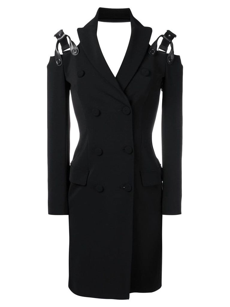 Moschino double-breasted dress - Black