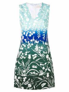 Peter Pilotto floral print dress - Blue