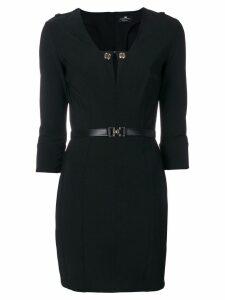 Elisabetta Franchi fitted dress - Black