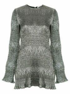 Georgia Alice Sublime mini dress - Metallic