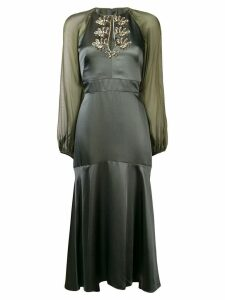 Temperley London Nile midi dress - Green