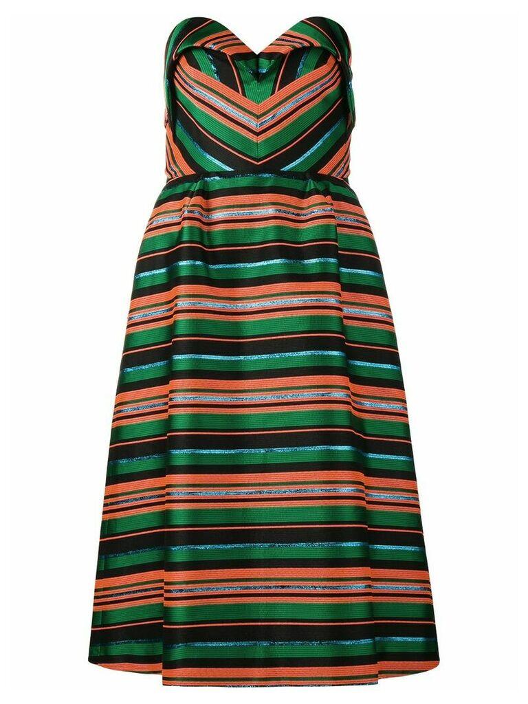 Delpozo striped dress - Multicolour