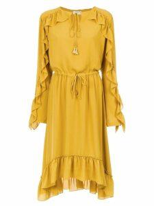 Olympiah Juli long sleeve dress - Yellow