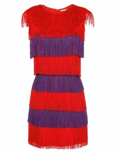Nk fringed dress - Red