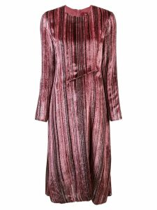 Sies Marjan textured flared dress - Pink