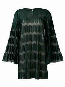 Antonino Valenti pleated shift dress - Green