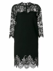 Ermanno Scervino slim laced dress - Black