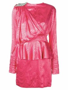 Dodo Bar Or sash detail mini dress - Pink