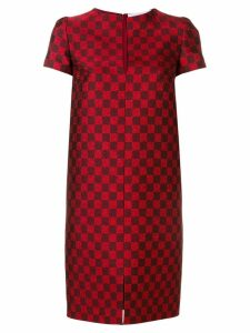 Gianluca Capannolo checked dress - Red