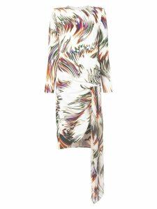 Givenchy swirl print dress - White