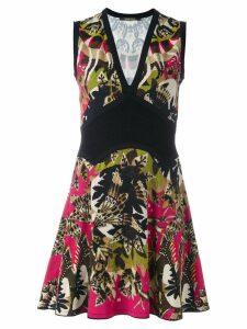 Roberto Cavalli floral print short dress - Multicolour