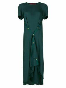 Sies Marjan asymmetric flared dress - Green