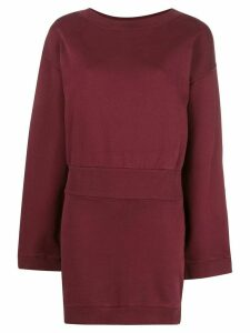 Faith Connexion ribbed sweater dress - Red