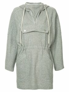 Walk Of Shame anorak dress - Grey