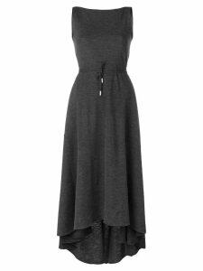 Dsquared2 asymmetric hem dress - Grey