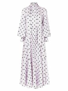 Layeur pleated long dress - Pink