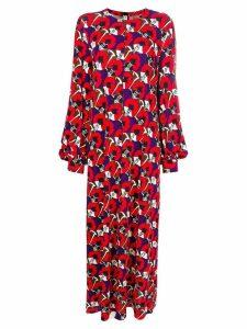 Marni flowers long dress - Multicolour