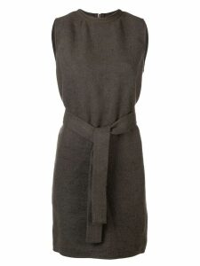 Rick Owens belted dress - Grey