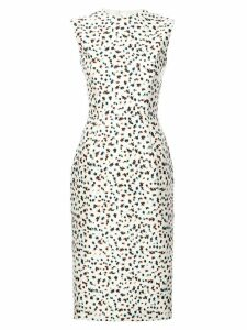 Jason Wu Collection floral print sleeveless dress - White