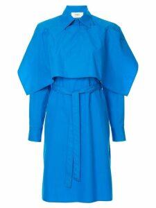 Ports 1961 tie waist shirt dress - Blue