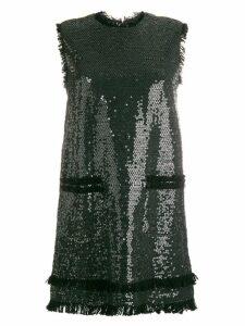 MSGM sequin mini dress - Black