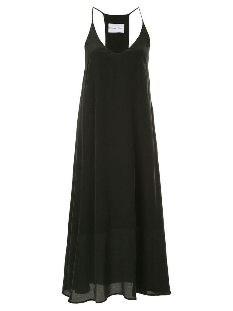 Strateas Carlucci Pixel slip dress - Black