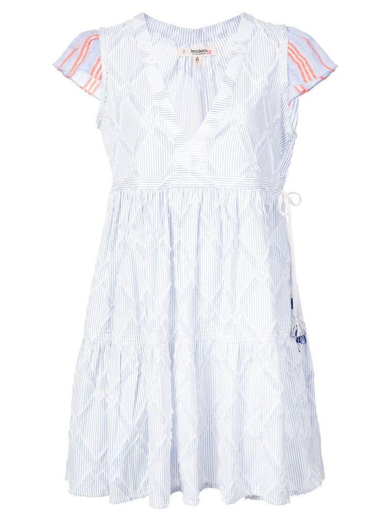 Lemlem Besu short dress - Blue