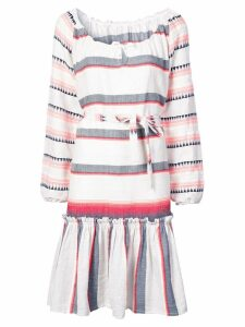 Lemlem striped belted dress - Grey
