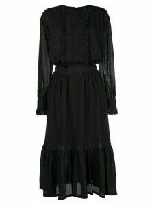 Neul ruffled dress - Black