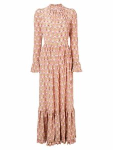 La Doublej geometric print dress - Pink