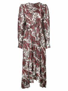 Isabel Marant Jorja paisley-print dress - White